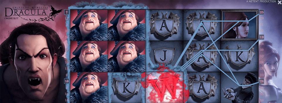 Dracula spelautomat