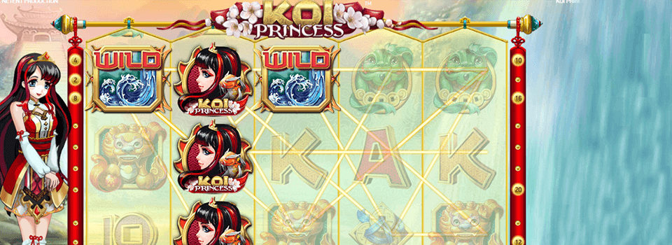 Koi Princess spelautomat
