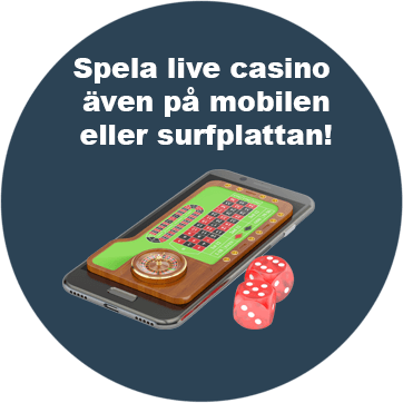 Svenska live casinon