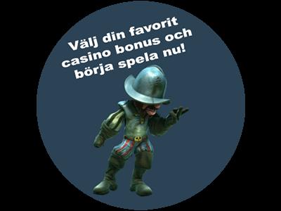 Sveriges hetaste casinobonusar