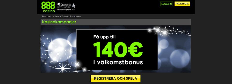 888 casino på nätet