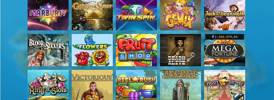 Casino Heroes spel