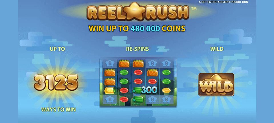 Reel Rush spelautomat
