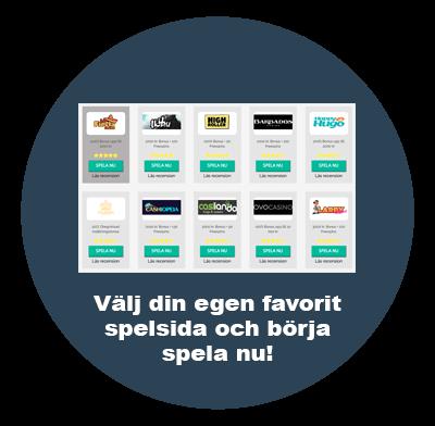 Alla svenska casinon 2021