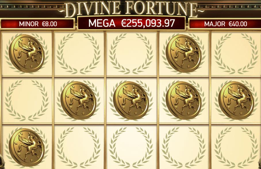 Divine Fortune freespins