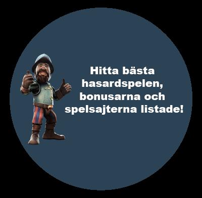 Bästa svenska hasardspel