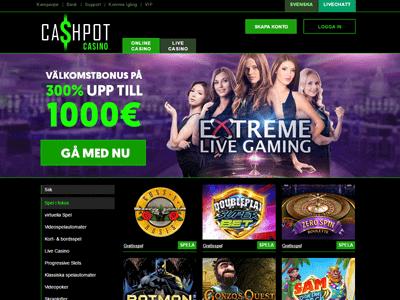 Cashpot nya casinon Sverige