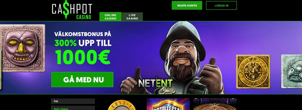 Cashpot casino bonus