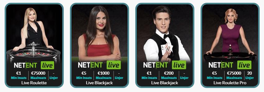 live casino Cashmio