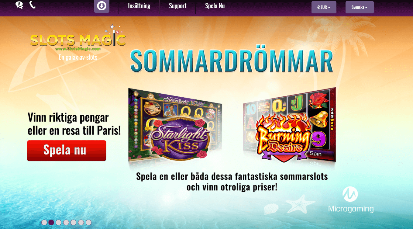 SlotsMagic sommar kampanj