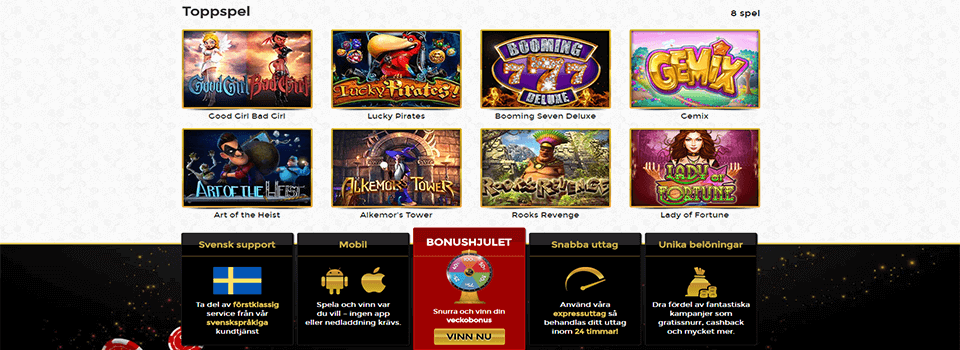 Unique casino freespins