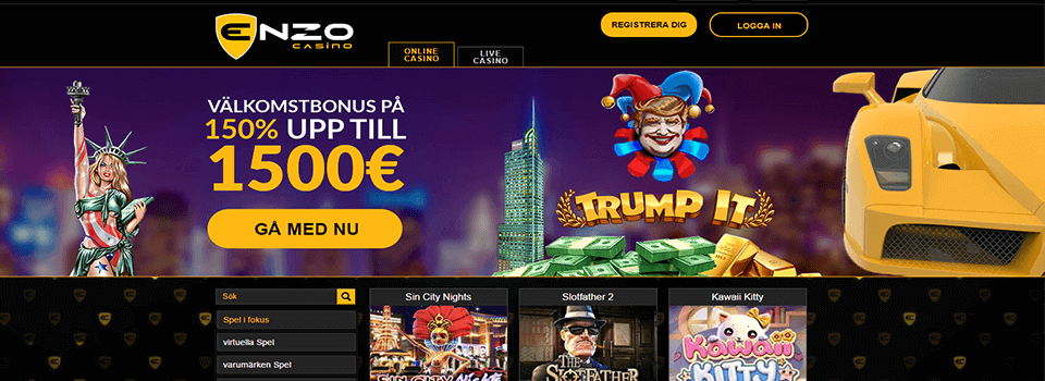 Enzo casino recension