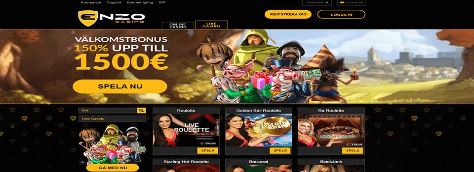 Enzo casino freespins
