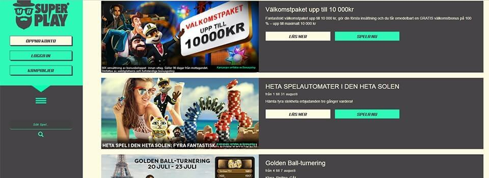 SuperPlay freespins