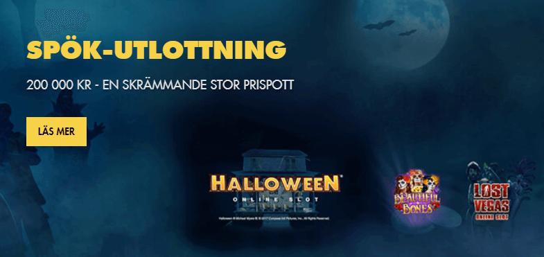 Halloween kampanj Bethard