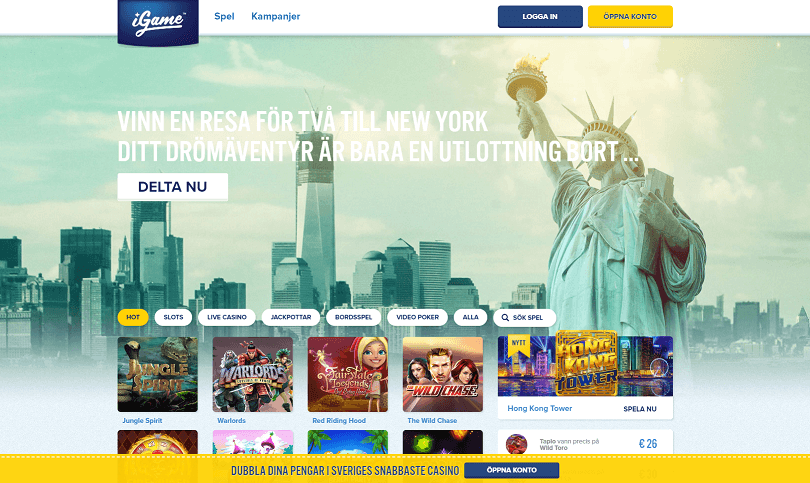 Igame New York kampanj