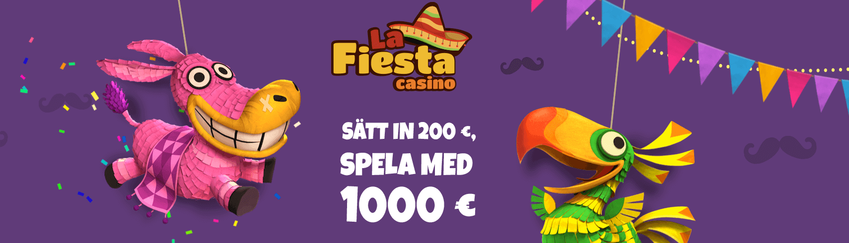 La Fiesta Casino välkomstbonus