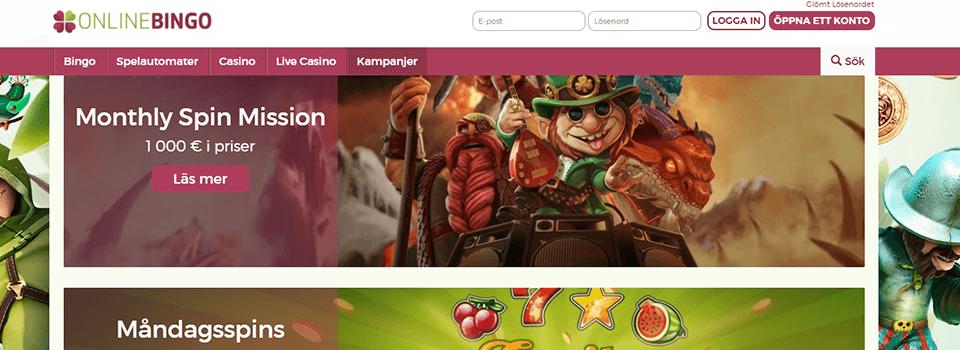 Onlinebingo.eu freespins