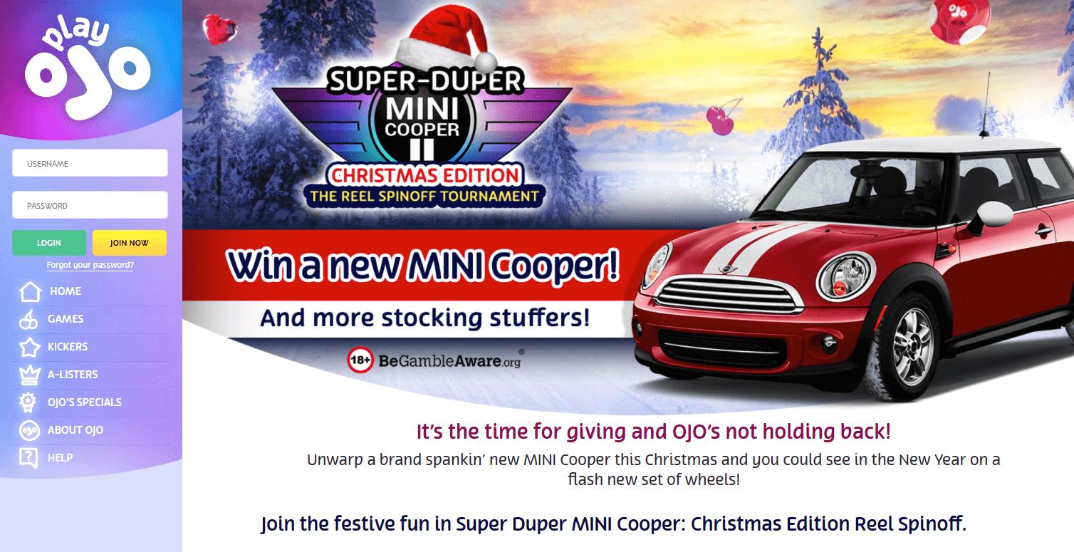 Vinn en MINI Cooper bil