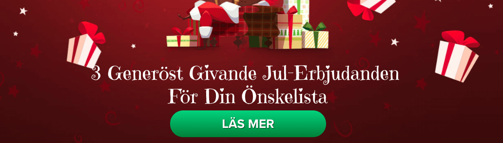 Julerbjudanden Igame