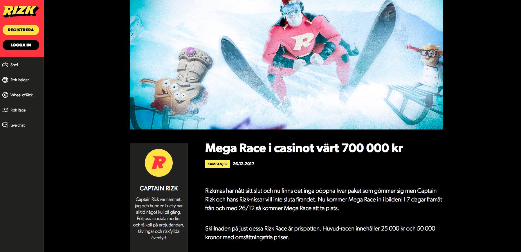 Rizk mega race