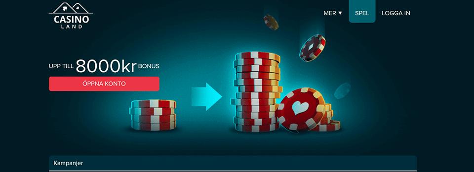 Casinoland Casino bonus