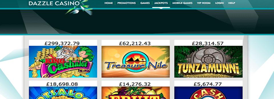 Dazzle Casino freespins