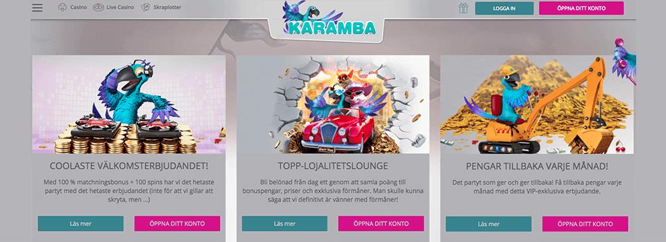 Karamba freespins