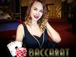 Live baccarat bild