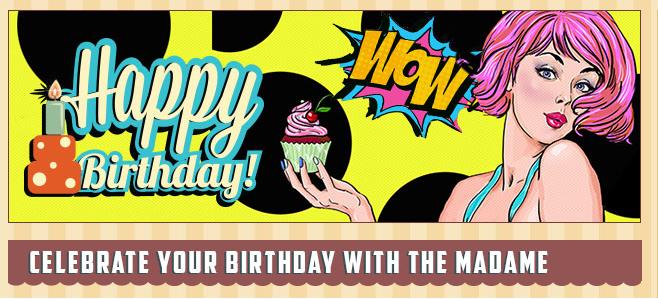 MadameChance Födelsedag