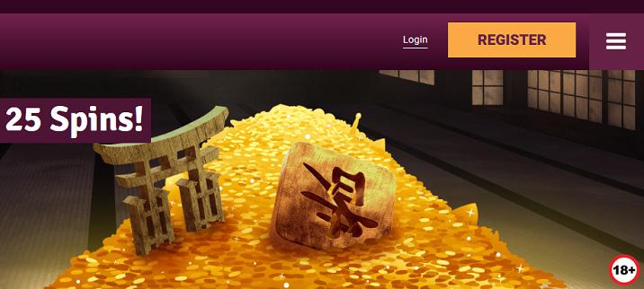 Simbagames 100% välkomstpaket 25 freespins