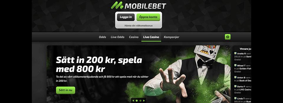 Mobilebet freespins