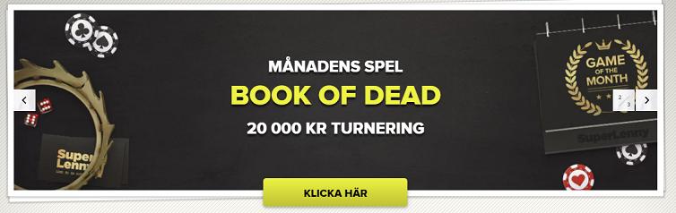 Superlenny Månadens spel i februari vinn 20 000 kronor