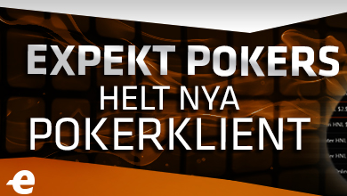 expekt pokers helt nya pokerklient