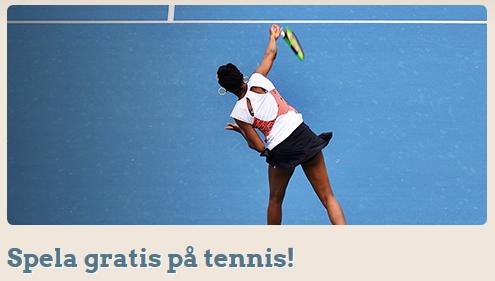 LeoVegas Spela gratis på tennis