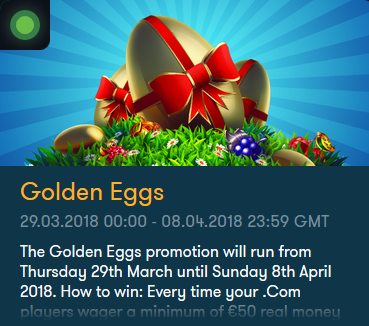 FrankCasino Vinn Golden Eggs