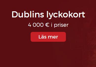 Lucky31 Kriga om 4000 € i Dublin lyckokort