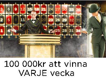 MrGreen Vinn 100 000 kr varje vecka