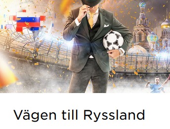 MrGreen Vinn fotbollsbiljetter till Ryssland