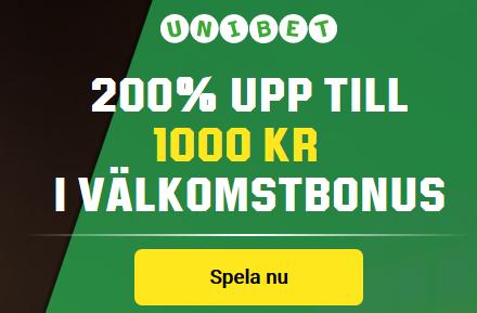 Unibet Boosta dina egna odds på Allsvenska starten