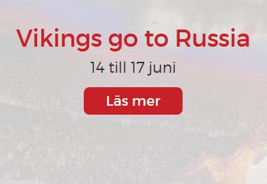Lucky31 Nätcasino Vikings go to Russia med första priset på 2000 €!