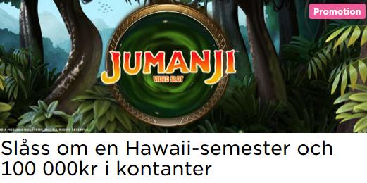 MrGreen Slåss om en Hawaii-semester och 100 000kr i kontanter!