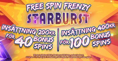 Nätcasino Fika Casino Free Spins Frenzy