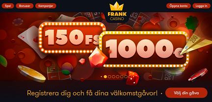 FrankCasino Goal Smash Promotions 75 000 €