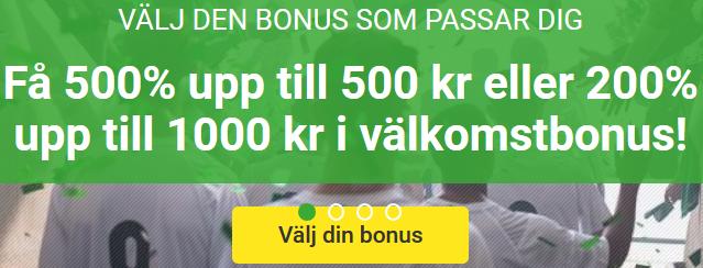 Unibet nätcasino Få freebets från ditt semifinallag