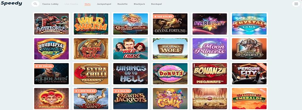 SSpeedy Casino freespins