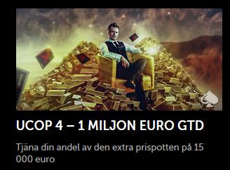 Nätcasino Betsafe Poker UCOP 4 – En miljon euro garanterat!