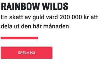 Nätcasino Guts - Rainbow Wilds: En skatt av guld värd 200 000 kr att dela ut den här månaden!