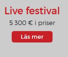 Nätcasino Lucky31 - Livefestival med vacker prispott på 2500 €!