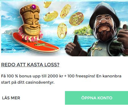 Nätcasino PirateSpin - Smygtitta på julklapparna och vinn andel av 50 000 kr och 25 000 freespins!
